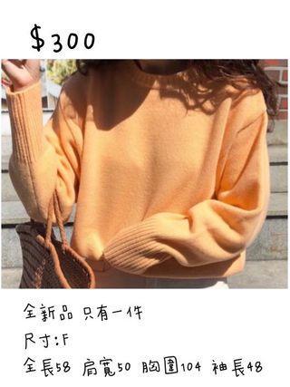 全新品✨暖棉棉針織衣