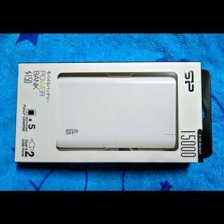 SP廣穎S150 15000mAh行動電源(白)