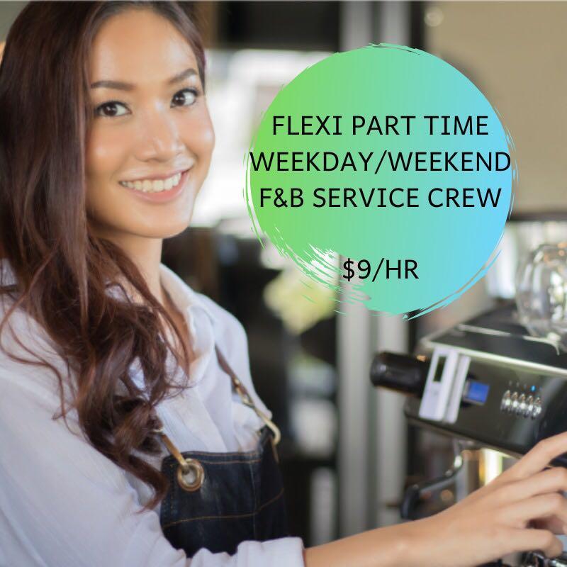 10x PART-TIME SERVICE CREWS