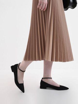 Charles&keith 皮底鞋