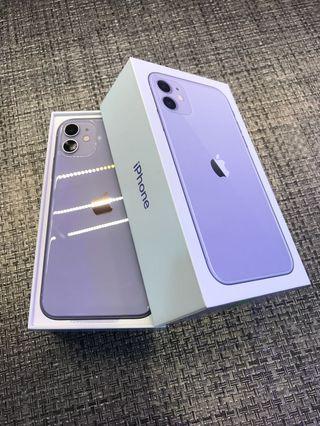 🔥馬克嚴選➰全新拆封已啟福利品🔥iPhone 11 128GB 限量紫