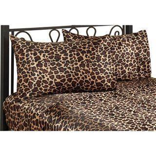Leopard Satin Bedding