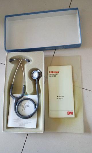 #出清2019, 再降價!3M Littman Classic II Stethscope (美製全新聽診器),只要NT$$1500!