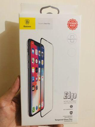 🈺清屋急放🈹Baseus 倍思 iPhone X/XS 全屏曲面鋼化保護貼
