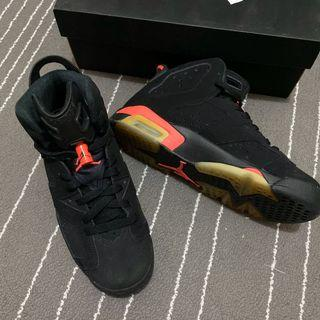 Nike AirJordan6 Retro BG infrared #出清2019