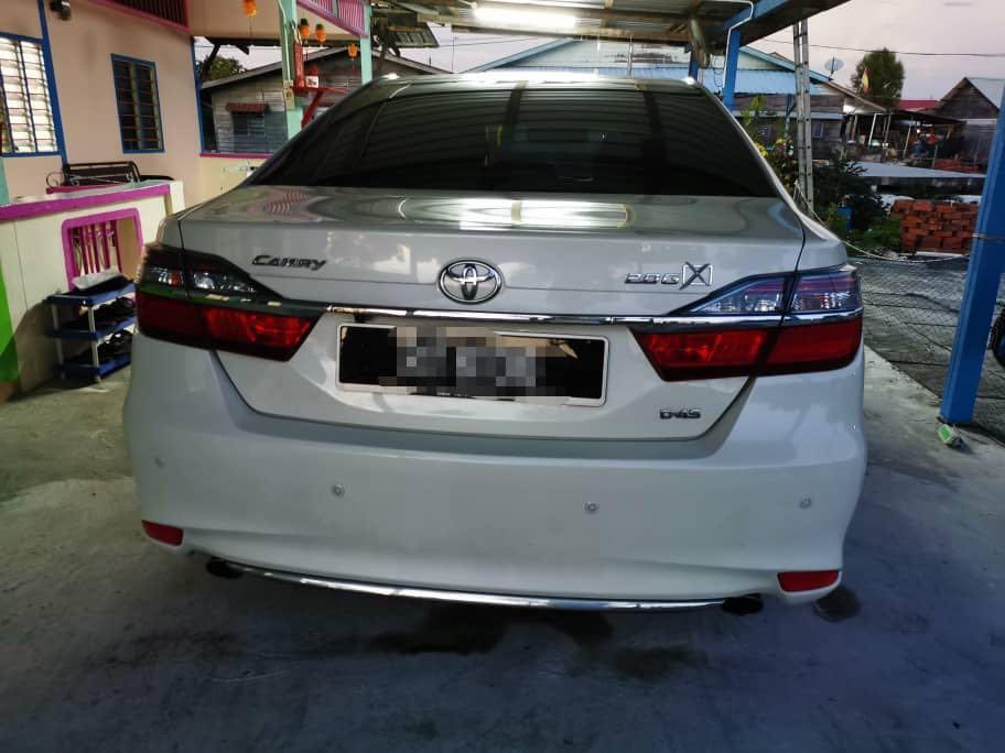 2017 Toyota Camry 2.0 G X-Spec Full Hybrid 2.5 Bodykit