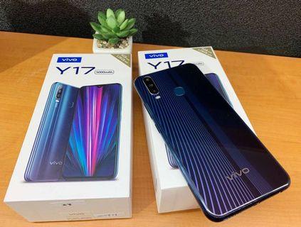 🔥馬克嚴選➰全新僅拆封🔥VIVO Y17 6GB/128GB 6.5吋 鏡面藍