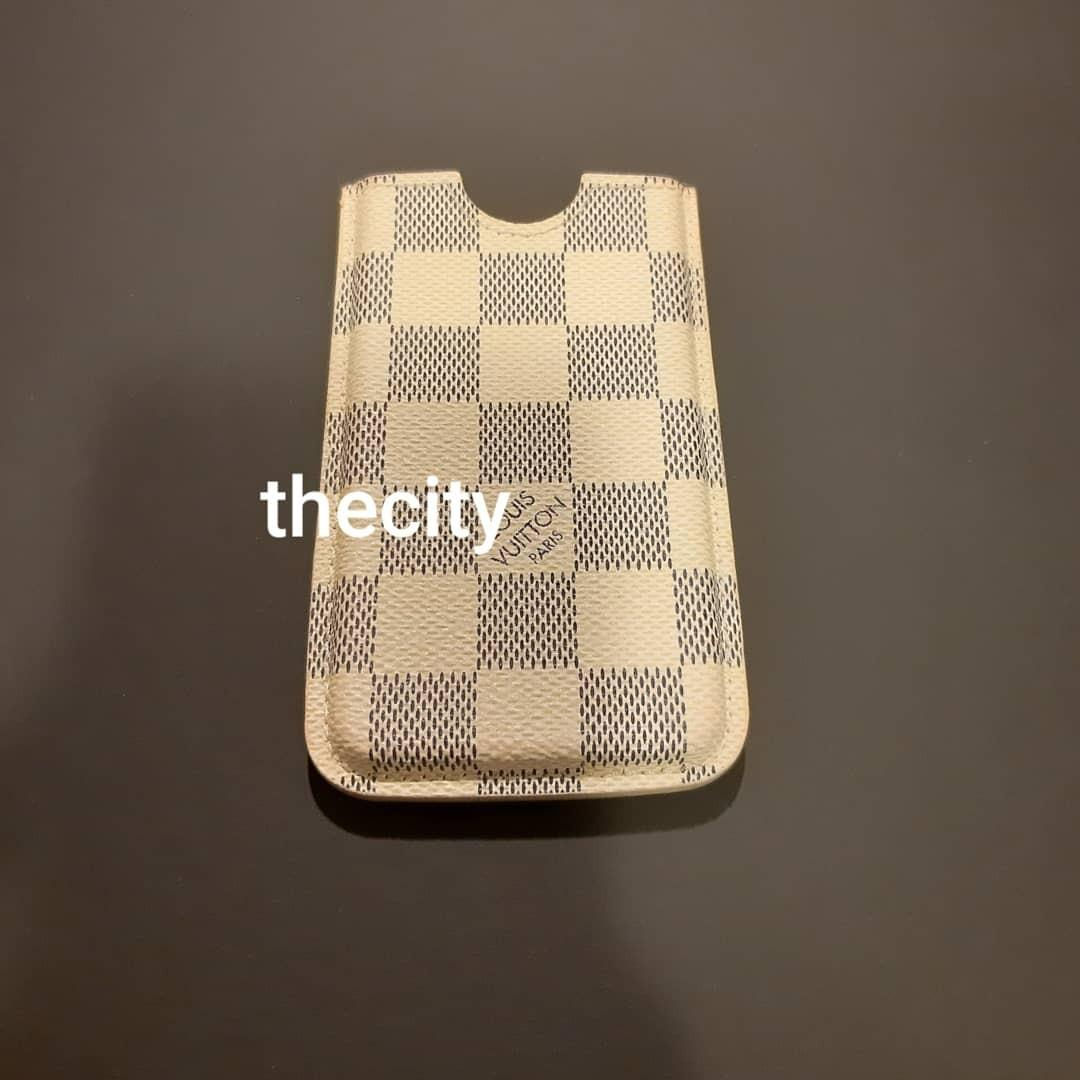 AUTHENTIC LOUIS VUITTON DAMIER AZUR CANVAS,  IPHONE 4 HOLDER/ CARD CASE - RM 290 ONLY