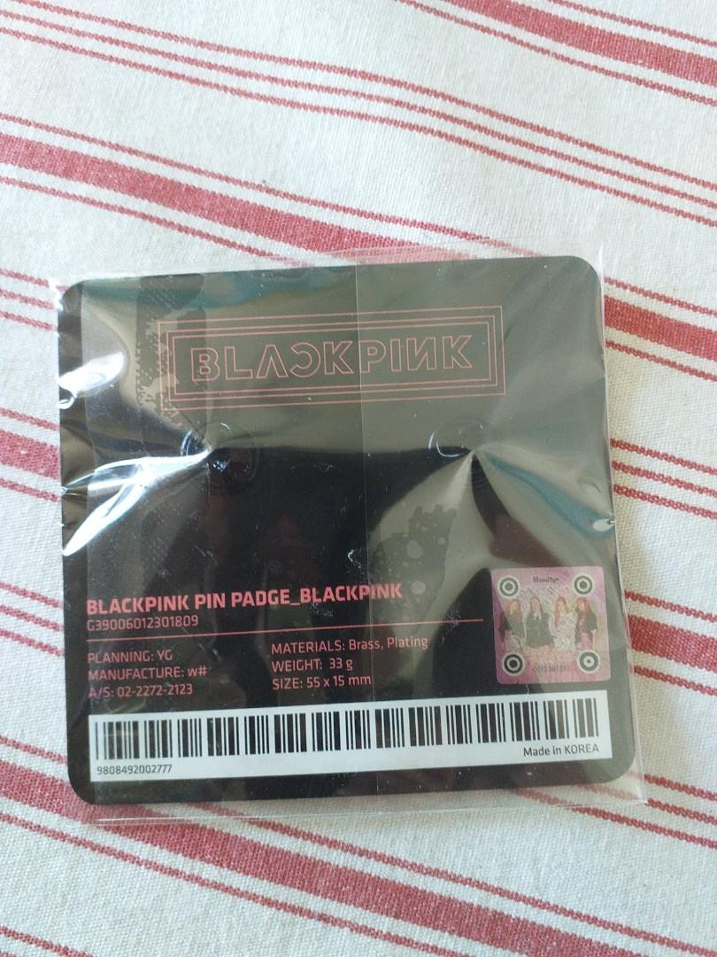 Blackpink pin *NEW* hand-carry from Korea 100%authentic and original