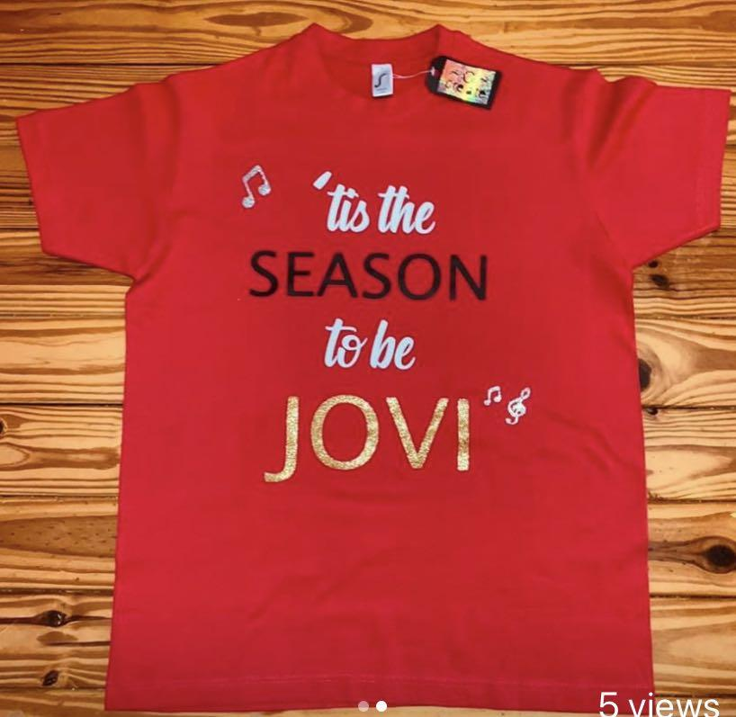 Bon Jovi Unique, One of a Kind Personalised T-Shirts...