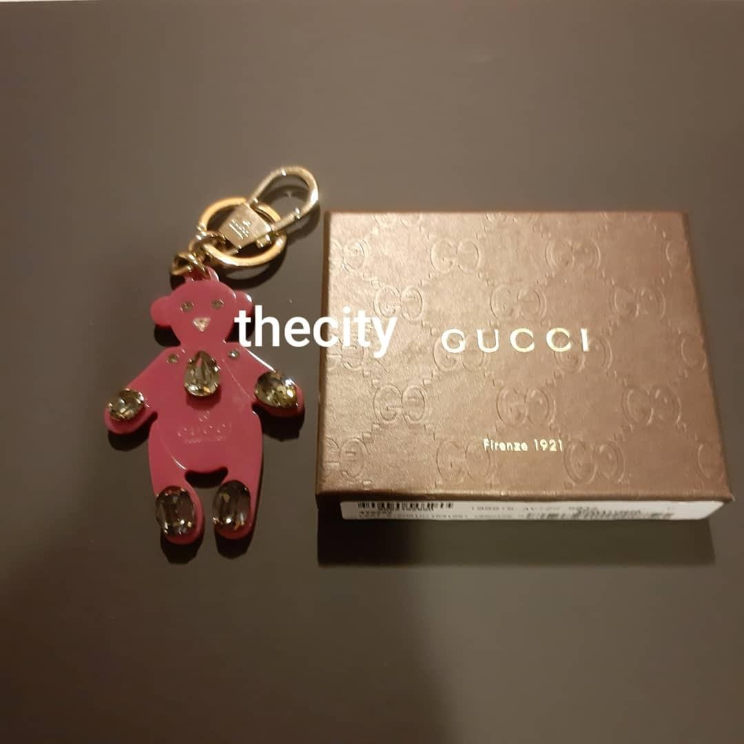 BRAND NEW- AUTHENTIC GUCCI BEAR KEYHOLDER CHARM - WITH BOX - (BOUGHT AT RM 1010) - RM 350 ONLY