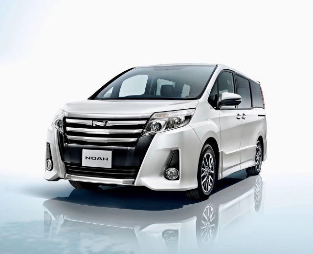 Brand New Toyota Noah Hybrid For Rent
