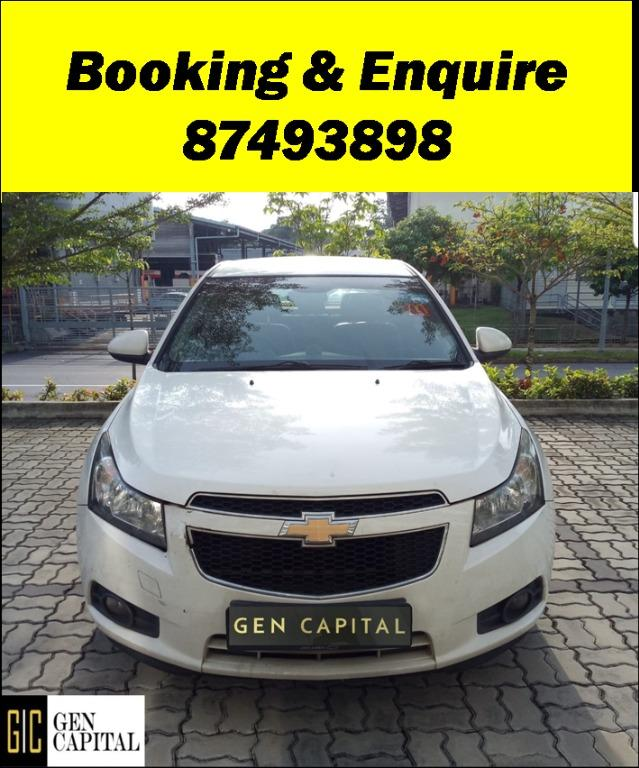 Chevrolet Cruze *Early CNY Promo whatsapp Edwin @87493898 now!!!*