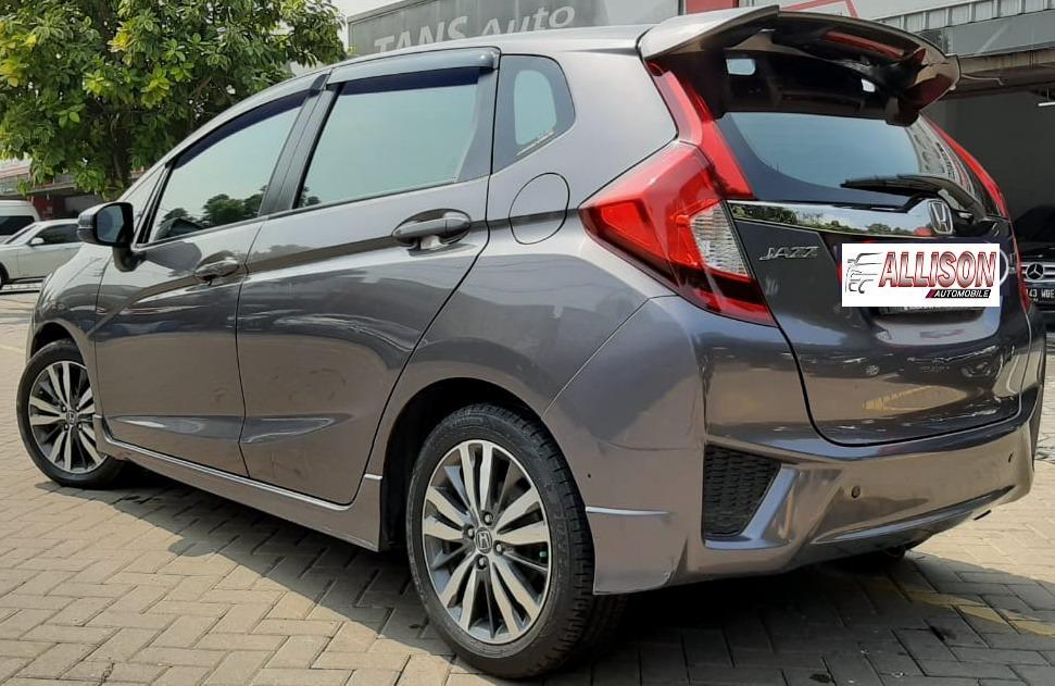 Honda ALL New Jazz RS Facelift Automatic 2016, Dp 19,9 Jt, Warna Abu Abu, No Pol Ganjil.