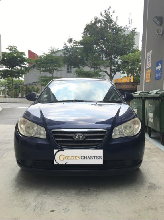 Hyundai Avante For Rent ! Gojek / Grab / Personal use can rent now ! Contact us