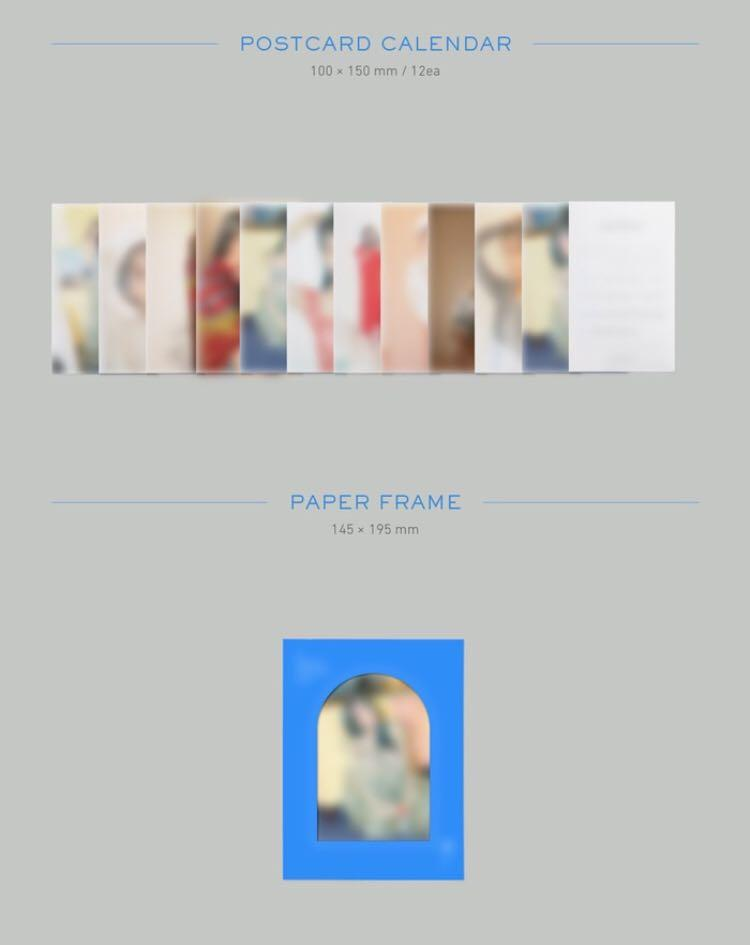 IU 2020 Season Greeting ✔️Second payment needed pls read in the details
