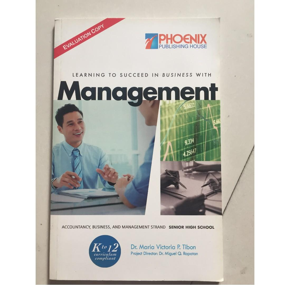 Learning to Succeed in Business with Management for Senior Highschool