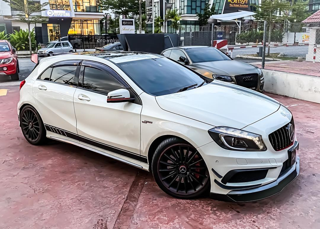 MERCEDES BENZ A45 AMG 4 MATIC 2.0 TURBO 375HP*  375HP 6,000RPM SEWABELI BERDEPOSIT