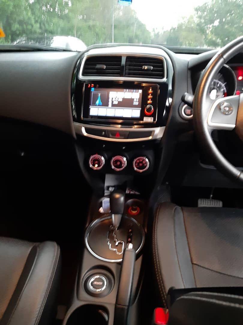 Mitsubishi ASX 2016 4wd Untuk Disambung Bayar Berdeposit