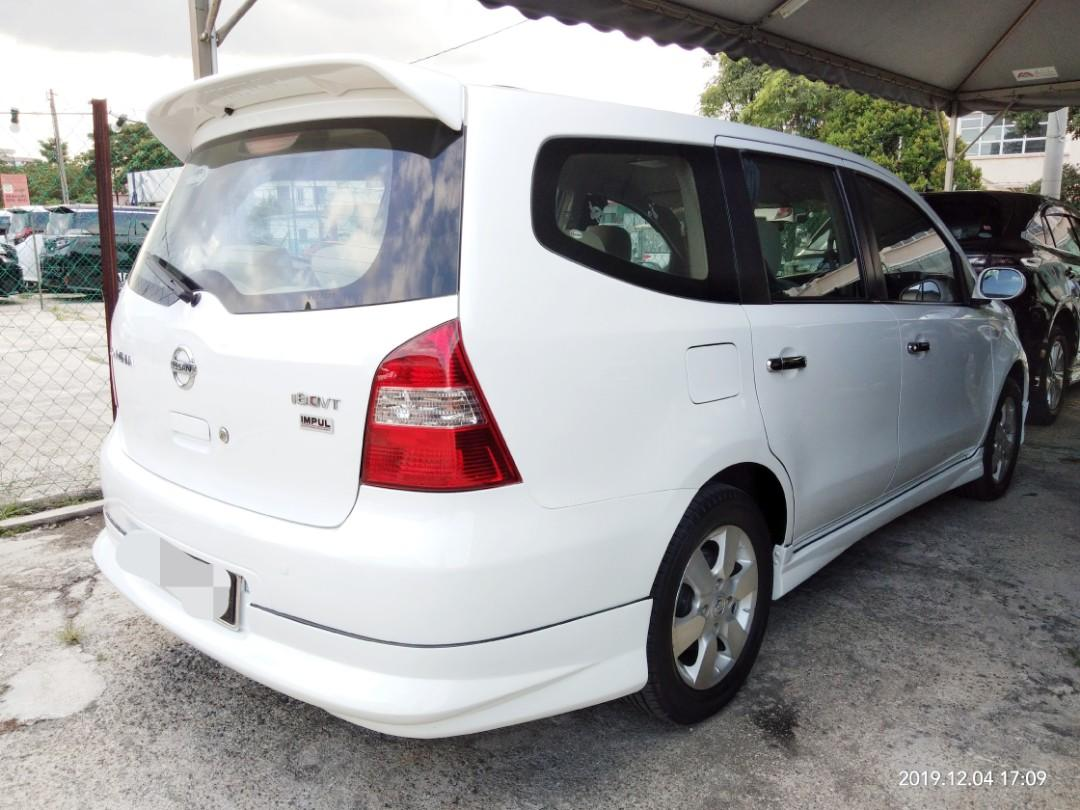 NISSAN LIVINA GRAND 1.8 AUTO on the road Price RM28,888.88 Instalment RM498monthy 👍 HP0122367272☺🙏Blacklisted can loan✔👍☺