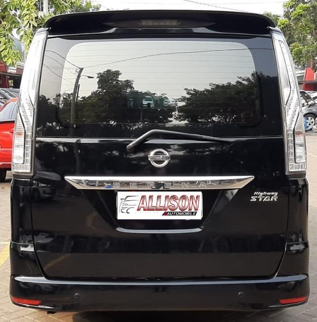 Nissan Serena HWS Autech Panoramic Automatic 2015, DP 49,9 Jt Top Condition No Pol Genap