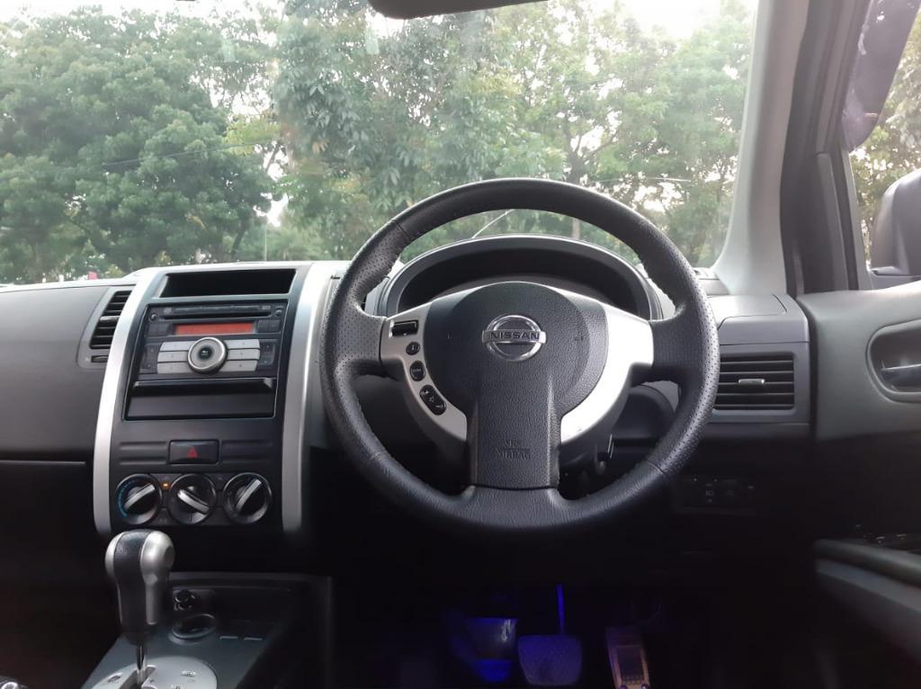 Nissan XTrail XT 2.5 AT 2008 Hitam Dp 35,9 Jt No Pol Ganjil