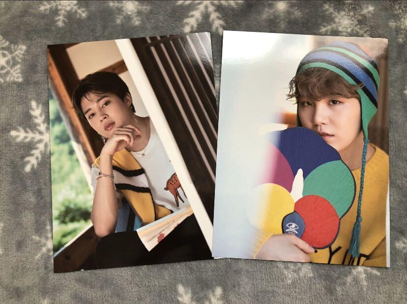 [OFFICIAL]BTS SUMMER PACKAGE 2018 in Korea Photocards(JIMIN+SUGA)