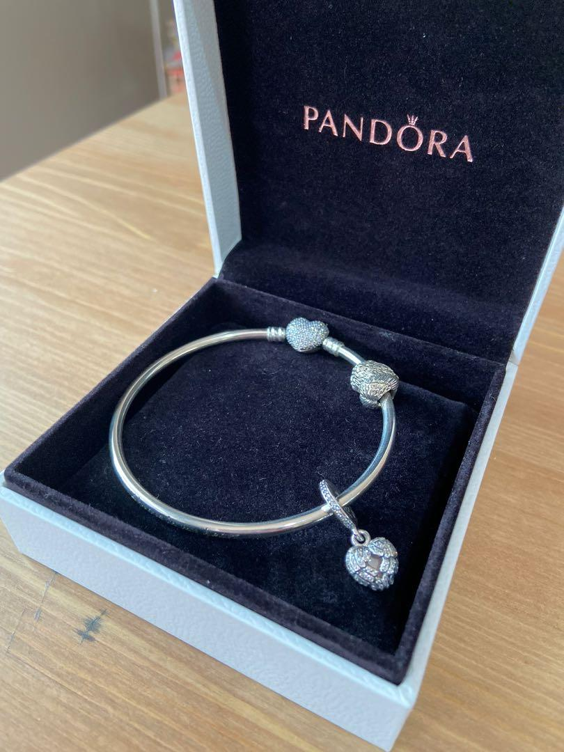 NEW Pandora Always in my Heart limited edition bangle