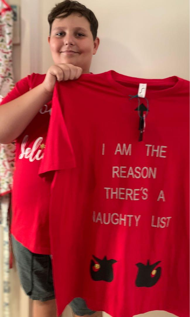 Personalised & Unique Christmas T-Shirts - High Quality
