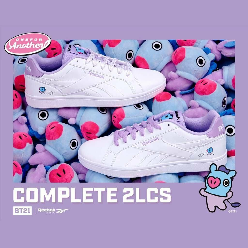 (PO) Official BTS BT21 x Reebok Royal Complete 2 Lcs