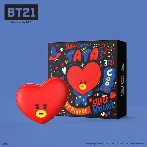 (PO) Official BTS BT21 x Royche Power Bank + Portable Hand Warmer
