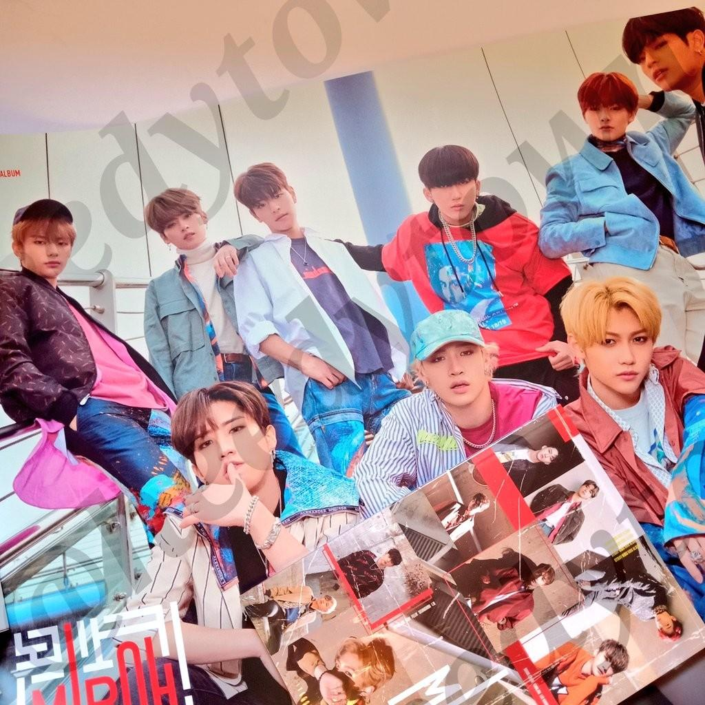 [READY STOCK] STRAY KIDS - CLE:1 MIROH With Poster ( BANG CHAN, I.N, CHANGBIN PC & WOOJIN Random page)