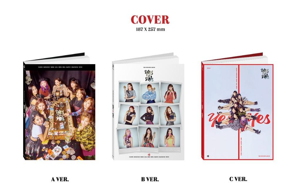 [Ready Stock/Sealed/First Press Photocard]TWICE - Mini Album Vol.6 [YES or YES] (A ver)