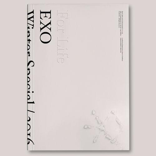 [Ready Stock/Sealed+Poster+Freebies ] EXO - 2016 WINTER SPECIAL ALBUM'FOR LIFE'(2CD)