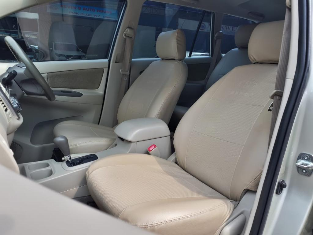Toyota Kijang Innova G lux 2.0 a/t bensin 2014 DP 3jt