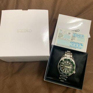 Seiko  PROSPEX 200米潛水機械錶  SPB103J1 綠水鬼