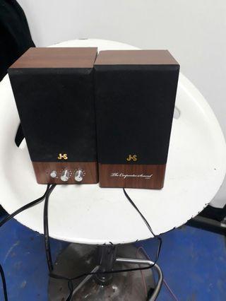 JS木質多媒體喇叭9成新