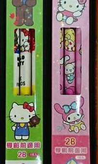 三麗鷗卡通系列大三角鉛筆