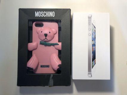 #出清2019 iPhone 5 16g 附贈Moschino手機殼