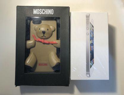 #出清 2019 iPhone 5 16g ➕Moschino手機殼
