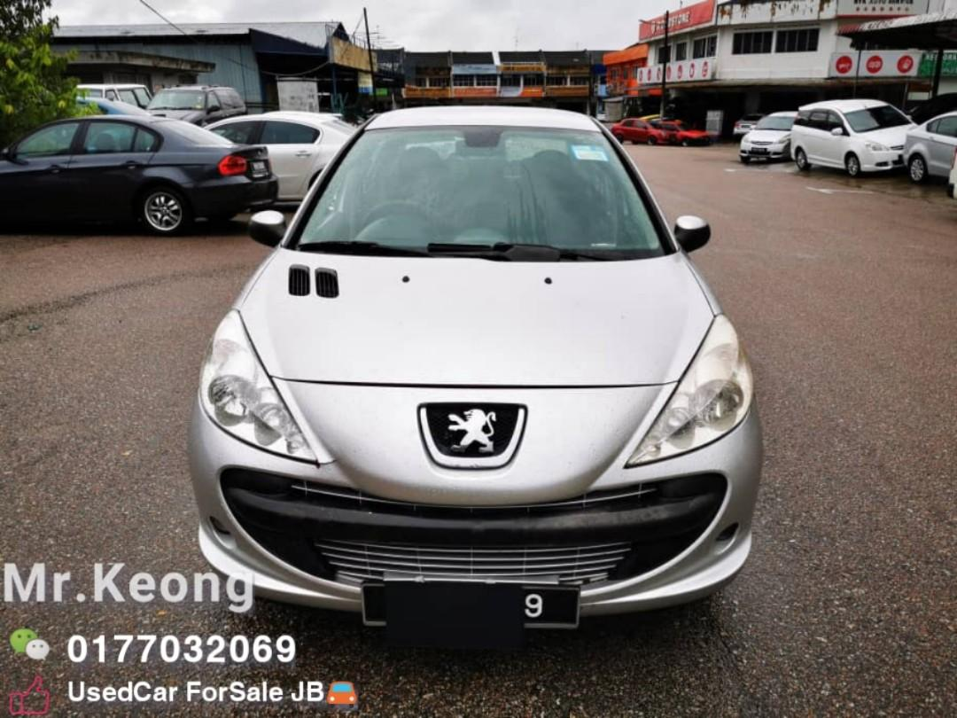 2012TH🚘Peugeot 207 1.6 Auto Can FullLoan🎉Cash OfferPrice💲Rm9800 Only⚠️Location JohorJaya Area⚠️400 Unit UsedCar For Sell⚠