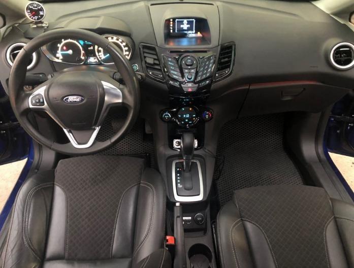 2016年 Fiesta Turbo 藍 <強力過件團隊>免頭款 全額貸 超額貸 車換車 無薪轉勞保 信用瑕疵 職軍專案