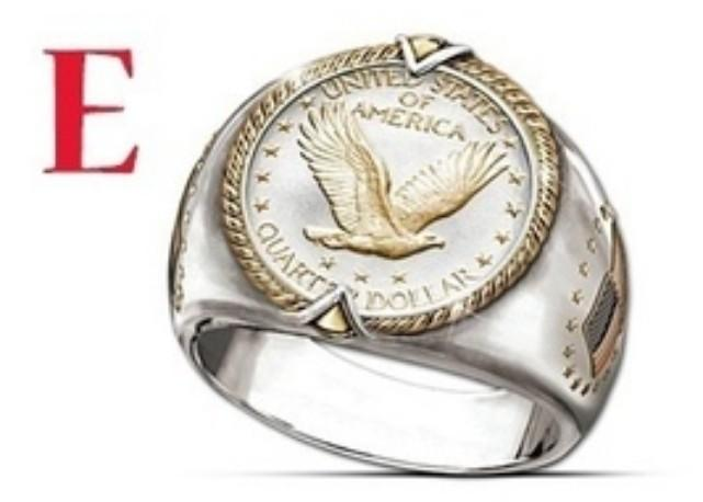 925 Sterling Silver Indian Ethnic Style  Two Tone Mens Rings