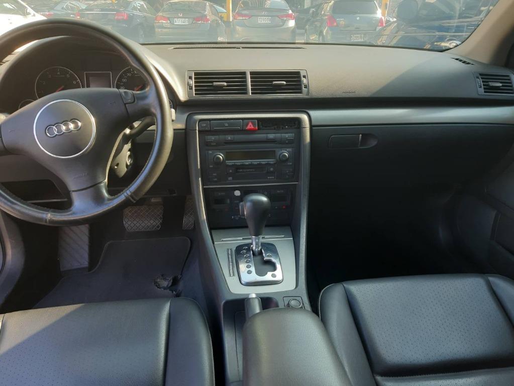 知名進口車之一 豪華中型房車 奧迪  A4 1.8T (渦輪增壓) 最高增壓可到200多匹馬 底盤安靜 開起來穩定性很好