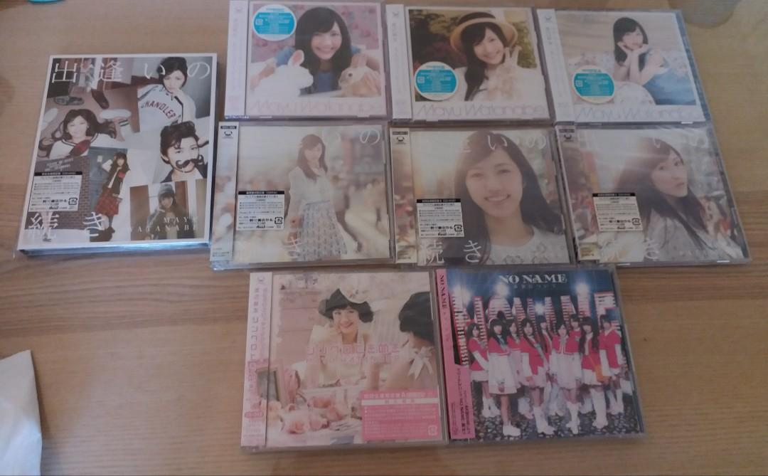 渡邊麻友 Watanabe mayu mayuyy 9隻CD 碟