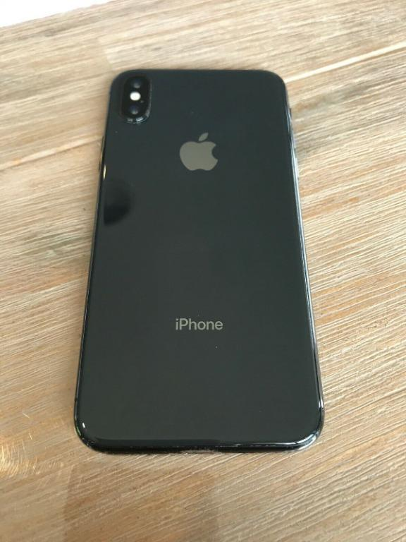 Apple iPhone X - 256GB - Space Grey (Good Overall Condition)