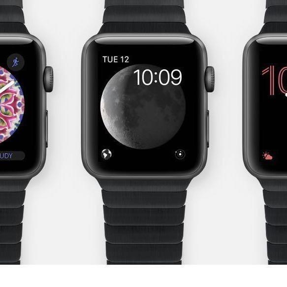 Apple Watch Series 1 | 42mm Space Grey Stainless Steel Case Space Black Link