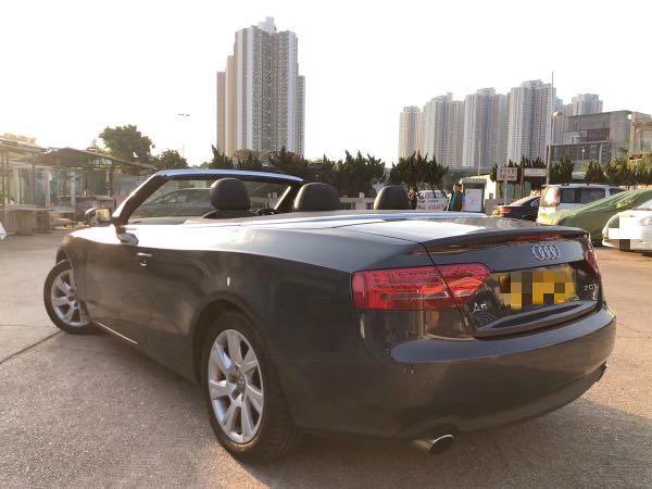 AUDI A5 2.0T CAB 2011