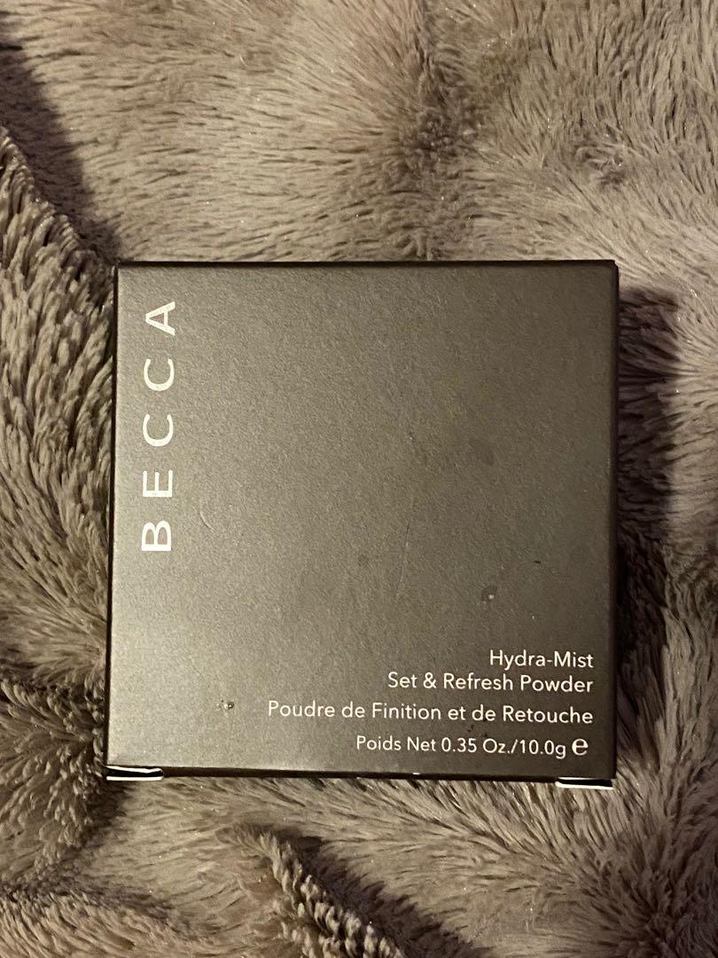 Becca Hydra-Mist Set and Refresh Powder: Natural Finish