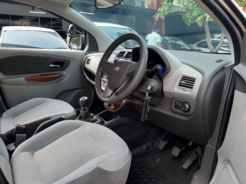 Chevrolet Spin 1.3 Manual Diesel 2014 Abu Abu Dp 19,9 Jt No pol Ganjil